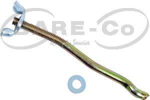 Picture of Bonnet Lock Rod with Wing Nut for MF Tractors - B5213