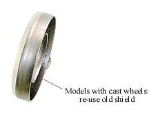 Picture of Dust Shield for H/Duty Stub Axle - B7392