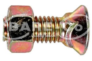 """Picture of Plough Bolt with Nut 1/2""""x2 1/2"""" - B2556"""