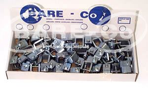 Picture of Box Of Scarifier Clips with Bolt and Nut (6mm) - B2647