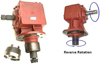 Picture of 130HP Reverse Rotation Gearbox (1:1) - B9670