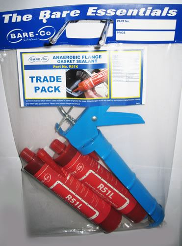 Picture of Flange Gasket Sealant Twin Pack & Applicator - R51K