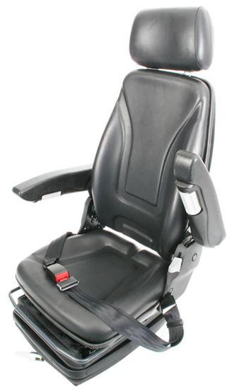 Picture of Delux Suspension Seat Black Vinyl - B6180