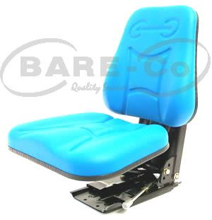 Picture of Heavy Duty Suspension Seat with Backrest (Black) - B9642