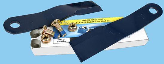 Picture of B6001 Slasher Blades & Bolt/Bush/Nut Kit - B6001B