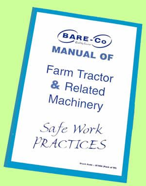 Picture of Farm Machinery Safety Manual (Pack 50) - B7000