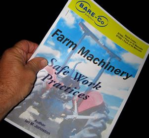 Picture of Farm Machinery Safety Manual (Pack 10) - B7999
